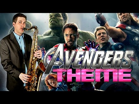 THE AVENGERS Theme - Saxophone Cover