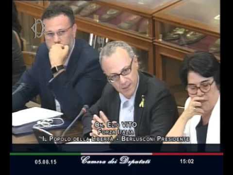 Roma - Vertici Forze armate, audizione generale Graziano (05.08.15)