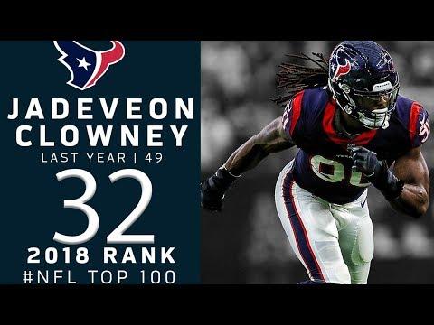 #32: Jadeveon Clowney (DE, Texans)   Top 100 Players of 2018   NFL