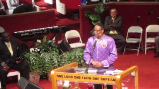 Bishop Lambert W. Gates Sr. Pt 1 - Apostolic Pentecostal Church of Morgan Park 90th Convention