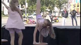ТК Донбасс - Выступление балерин школы Вадима Писарева