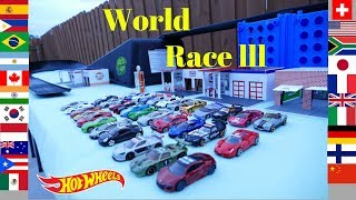 Hot Wheels world race 3 fat track exotics tournament
