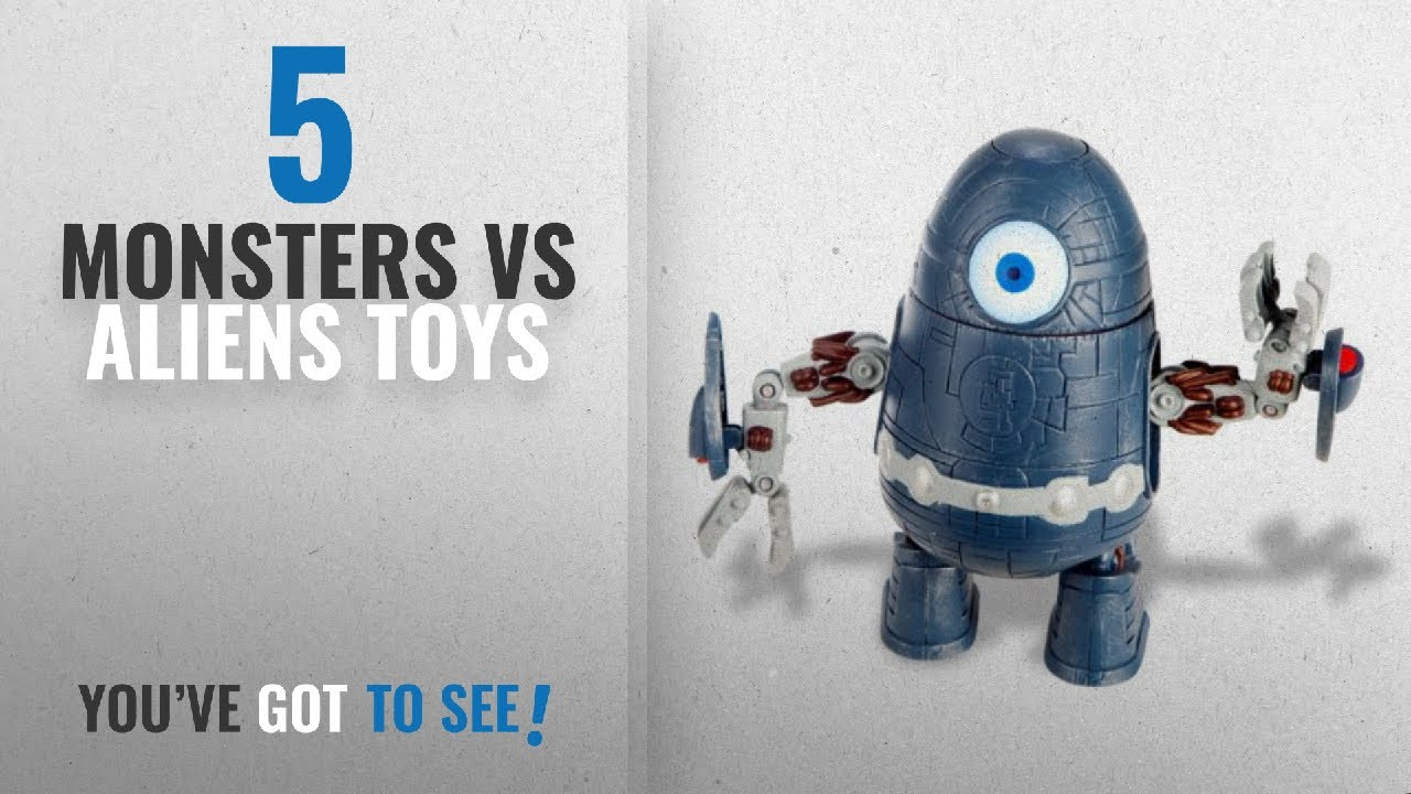 Top 10 Monsters Vs Aliens Toys 2018 Monsters Vs Aliens The Clone Robot Action Figure