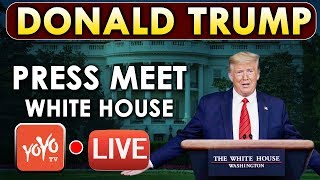 LIVE: Donald Trump and US Task Force Hold Press Briefing at White House | USA News Today | YOYO TV