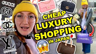 BUYING SECOND HAND LOUIS VUITTON IN JAPAN | CHEAP LUXURY FASHION | CHANEL, GUCCI & LOUIS VUITTON