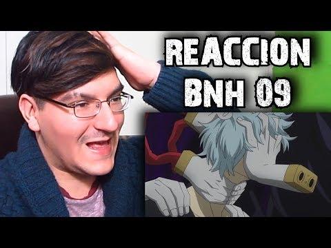 REACCIÓN BOKU NO HERO ACADEMIA 09: UN EXTRAVAGANTE NUEVO ENEMIGO #LMD