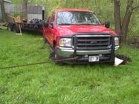 Chicago Planet Towing Winch Out