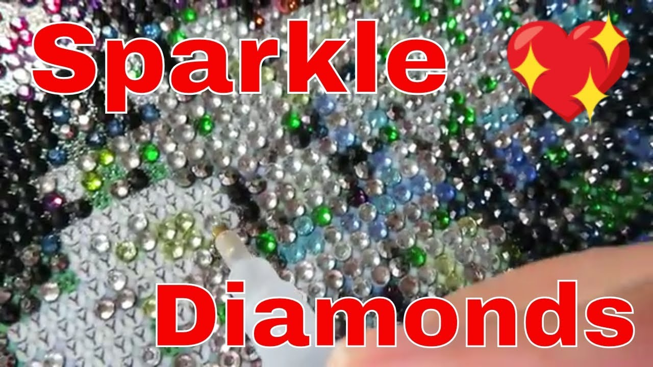 Rhinestones Diamond Painting Tips On Sticky Gems Review