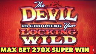 Video 😈HAND OF THE DEVIL👿 270x SUPER BIG WIN BONUS!! New Konami Slot RING-TAILED WILDS | 5 FROGS Slot download MP3, 3GP, MP4, WEBM, AVI, FLV September 2018