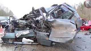 Аварии ДТП Ужасы на дорогах 2015
