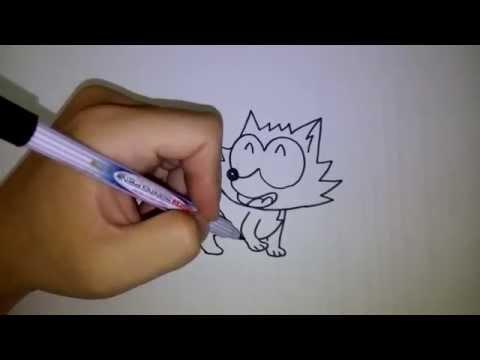 หมาของ ปังปอนด์ สอนวาดรูปการ์ตูน โดย วาดการ์ตูนกันเถอะ