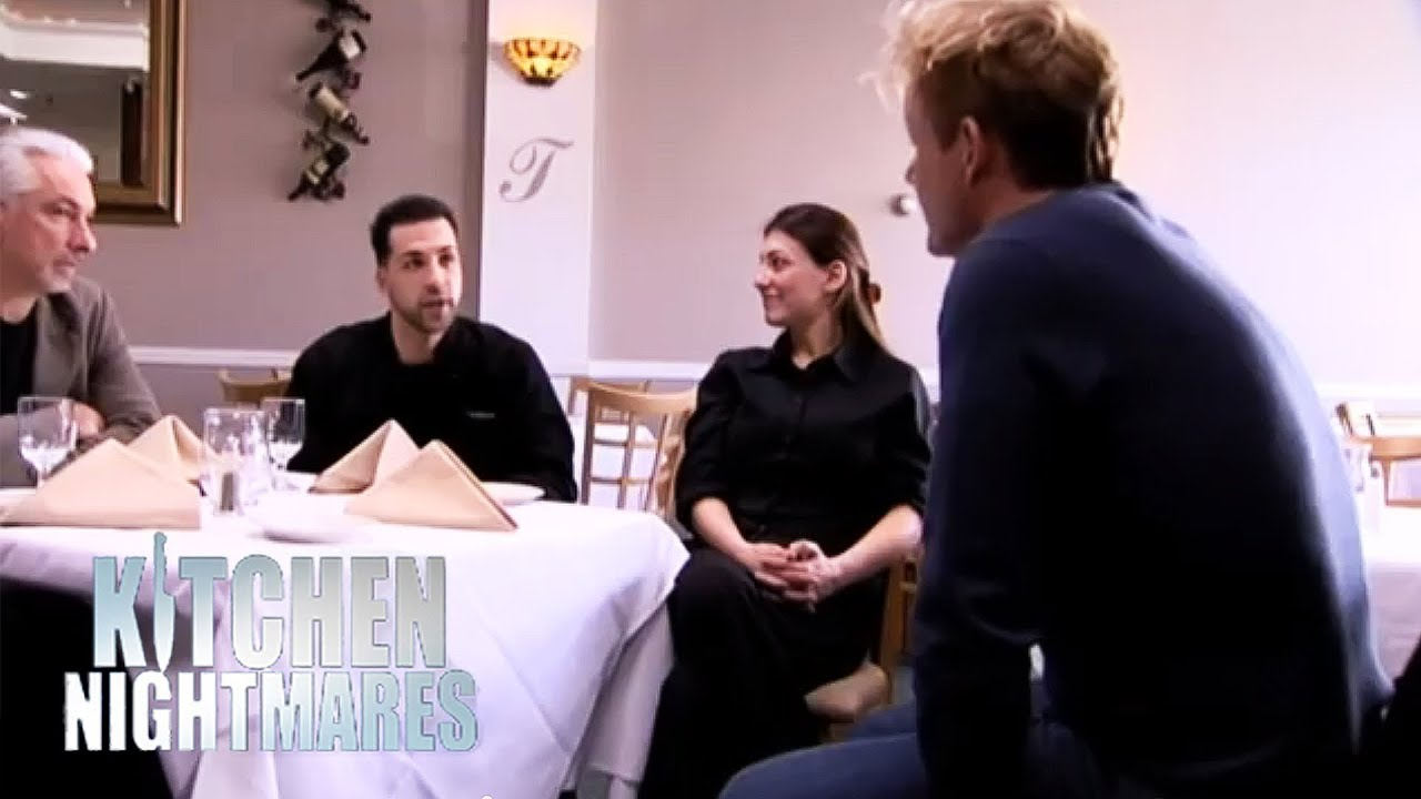 Gordon Meets with the Owners of Trobiano\'s - Kitchen Nightmares ...