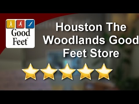 #goodfeetreviews ORTHOTICS The Woodlands Houston Good Feet Store Five Star Review By Brad B...