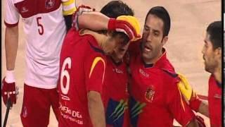 Campeonato del Mundo Hockey sobre Patines 2013 Luanda / España 9 - Suiza 1