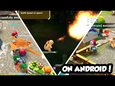 POKEMON 3D GAME FOR ANDROID WITH MEGA EVOLUTION AND 7TH GENERATION - 2017!!