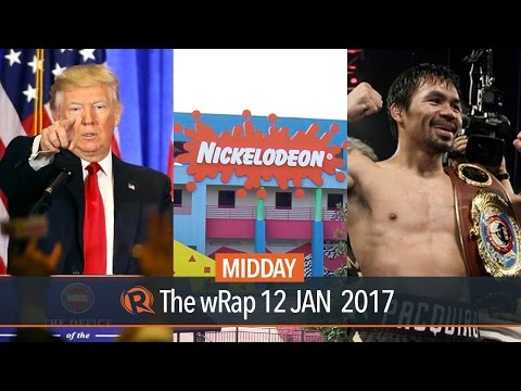 Nickelodeon underwater park, Donald Trump, Manny Pacquiao | Midday wRap