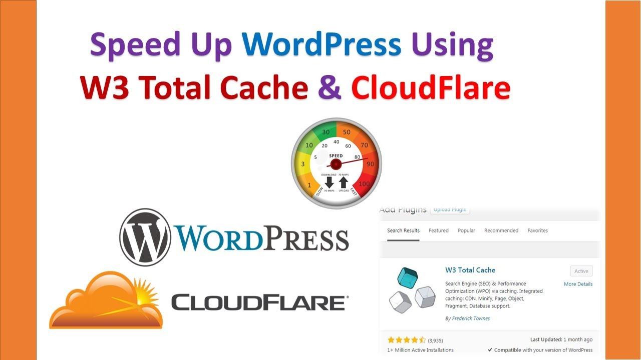 Speed Up WordPress Website Using CloudFlare Hindi / Urdu - W
