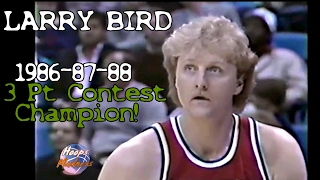 Скачать Larry Bird S Legendary 1986 87 88 3 Point Contest Champion Highlights All Final Rounds