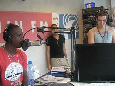 KEVIN & LEGEND @ RADIO STATION IN CURACAO 2009