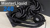 Cooler Master MasterLiquid 240 (unboxing, installation