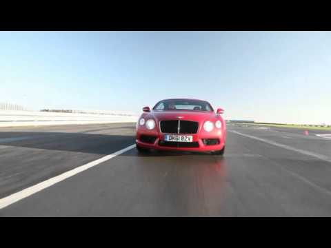 The new Bentley Continental V8 Range - Driving Footage