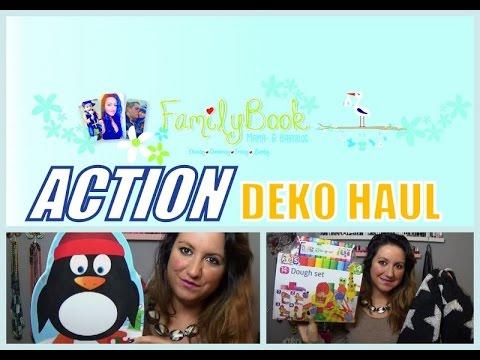Action Deko Haul November 2015 Familybook Youtube