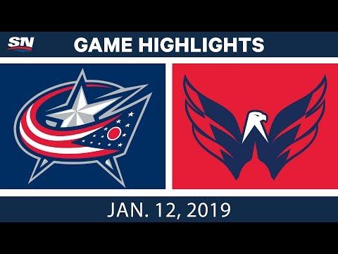 NHL Highlights | Blue Jackets vs. Capitals - Jan. 12, 2019