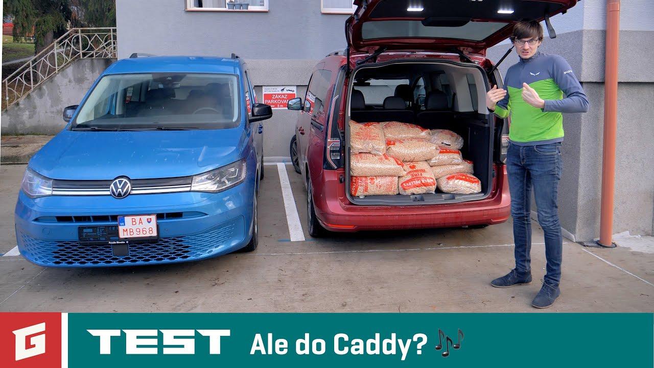 VW CADDY 5. gen 2020 - 2.0 TDI DSG - TEST - GARÁŽ TV - Šulko