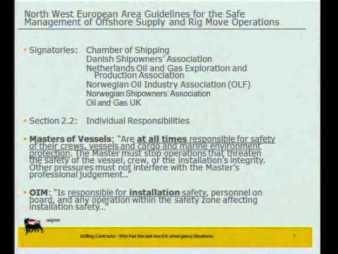 Pietro Galizzi - Offshore - Shipping And The Law 2011