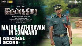Irumbuthirai | Major Kathiravan In Command Background Score | Vishal, Arjun | Yuvan Shankar Raja