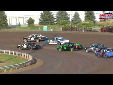 Dacotah Speedway Hobby Stock Heats (8/24/18)
