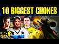 Top 10 Biggest Chokes In CS:GO History