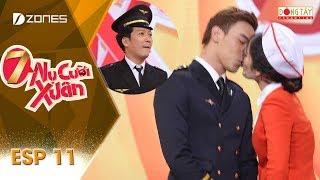 7 Nụ Cười Xuân | Tập 11 Full: Nam Thần Thuận Nguyễn Khiến Hari Won - Nam Em Gục Ngã (03/03/2018)