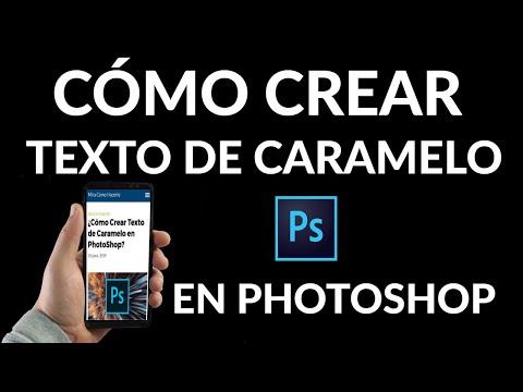 Cómo Crear Texto de Caramelo en PhotoShop