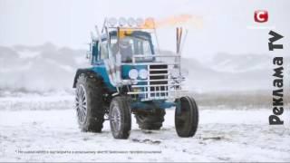 Реклама Киевстар / Kyivstar / на тракторе