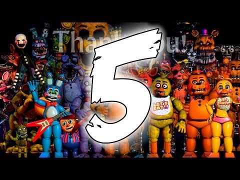 Five Nights At Freddys 4 - ПЯТЕРКА НА ТИЗЕРЕ? FNAF 5?
