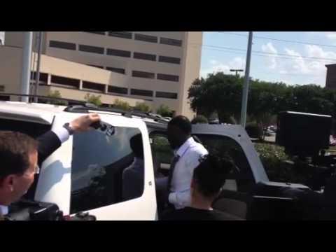Rolando McClain leaves court after conviction
