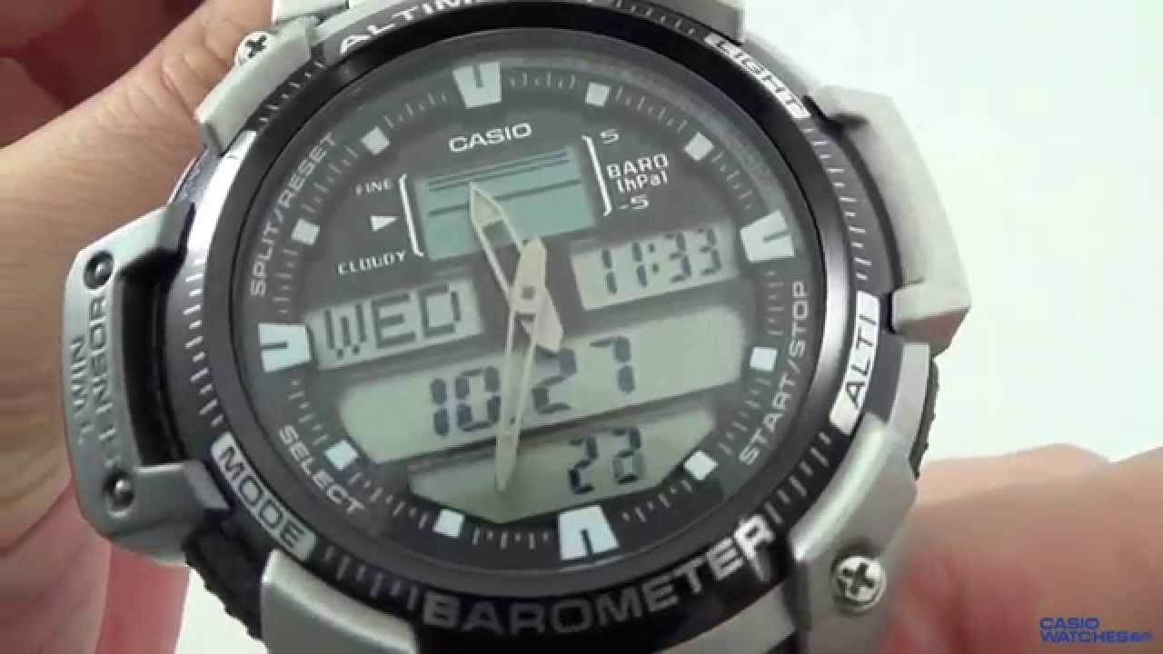 47cf9783362 Casio - SGW-400HD-1BV - YouTube