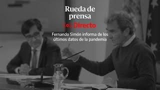 🔴 DIRECTO | Rueda de prensa de Fernando Simón con los últimos datos del coronavirus
