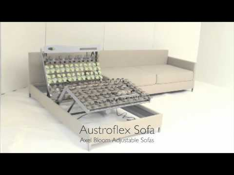 Axel Bloom Sofa Hancock And Moore Sofas Austroflex Sofabed Showing Suspension Base Youtube