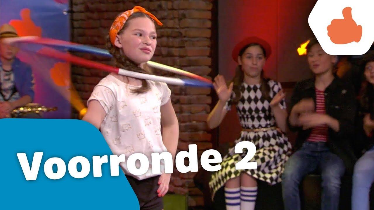 okido podium 2 aflevering 2 voorrondes kinderen voor