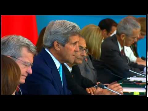 Secretary Kerry Delivers Remarks at the Strategic Track Plenary Session