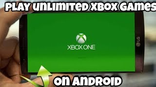 Gambar cover Play now xbox games unlimited on ANDROID