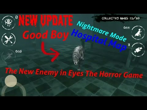 Eyes The Horror Game:Good BoyHospital MapNightmare ModeFull Gameplay