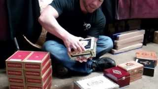 New Item At Sbc..carton And Wood Cigar Boxes!