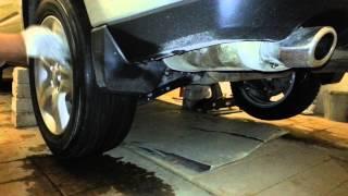 Работа заднего дифференциала Subaru Forester SH 2010