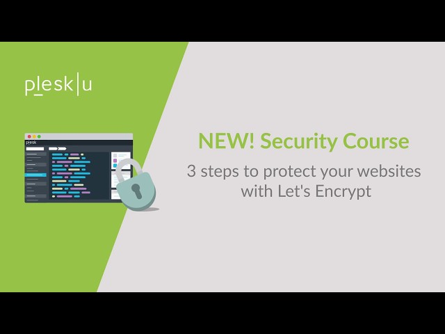Protect your website in 3 steps with Lets Encrypt