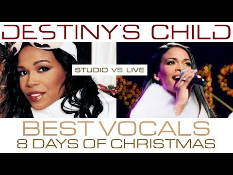 Destiny's Child - 8 Days of Christmas: Michelle Williams' Lead Vocals (Studio VS Live) Mp3