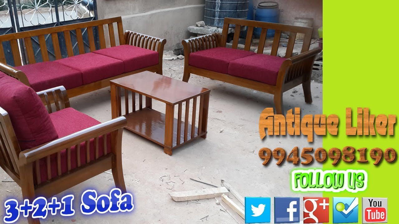 Damro 321 sofa set @ Antique liker - YouTube