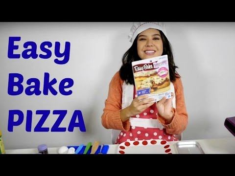 Recipes For Kids. Easy Pizza With Easy-Bake Oven.